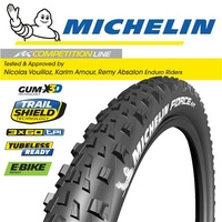 "Michelin Force AM - 29""x2.35"" - Foldable - MTB All Mountain Bike Tyre"