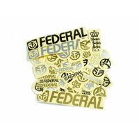 Federal BMX 39pc Sticker Pack
