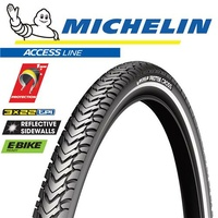 Michelin Protek Cross - 700x47C Wire - MTB City Treking Mountain Bike Tyre