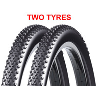 "2 x Chaptah Bestia x 27.5 x 2.20"" Mountain Bike Tyres - MTB Tires"