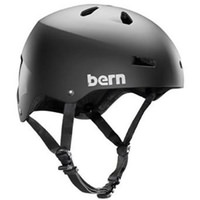 Bern Macon Bike Helmet - Matte Black. No Visor, Fixed Back