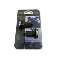GT Bicycles Alloy Flat Bar End - Handlebar ends - 31.6mm Black Bike End Caps