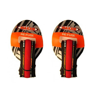 Maxxis Re-Fuse Foldable Tyre 700 X 23c PAIR (x2). (Refuse) - RED Road Bike Tires