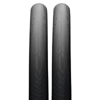 2 x Maxxis Refuse 700 x 28c Bike Tyres - Black Foldable Road Bike Tyres Re-Fuse