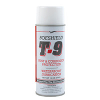 12oz Boeshield T9 Bike Chain Lube T-9 Aerosol Spray Lubricant Waterproof Wax