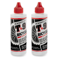 2 x Boeshield T9 Bike Lube - T-9 MTB Lubrication Waterproof Wax 4oz Drip Bottles