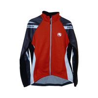 Giordana Womens Riding Jacket Silverline Donna- RED/BLACK Cycling Jacket