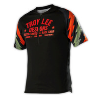 Troy Lee Designs TLD Ace Mens Black Cycling Jersey MTB Mountain Bike