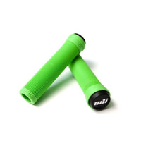 ODI Longneck ST Flangeless BMX and Scooter Grips - Green