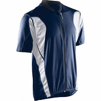Sugoi Pulsar Mens S/Sleeve Full Zip Cycling Jersey Midnight / White Size Small
