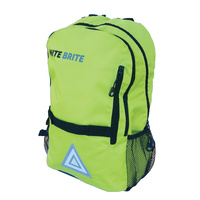Nite Brite Bike/Cycling Backpack - 20L Storage Bag - Hi-Vis