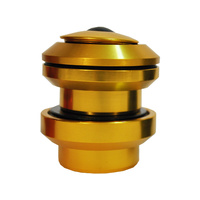 Neco BMX Headset - Alloy - 1 1/8 - T/Less - Gold