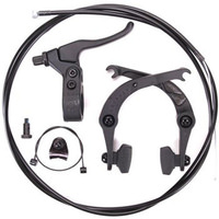 Odyssey Springfield Brakes BMX Caliper Lever Rear Black Complete Kit incl Cable