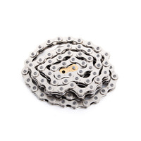 "Odyssey Bluebird 1/2 x 1/8"" Single Speed / BMX Bike Chain Silver"