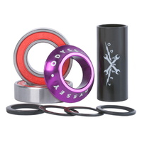 Odyssey BMX BB Set - Mid BB - 22/41mm - Anodized Purple