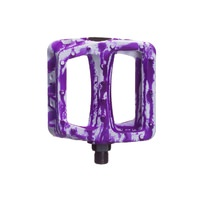 Odyssey Twisted PC 9/16 Plastic BMX Pedals - Tie Dye Purple Pedals