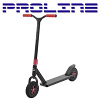 Proline Complete Scooter - Dirt Series Scooter - 5 Years + - Black / Red