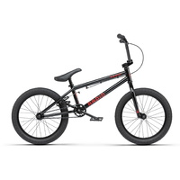 "Radio BMX Bike - 2021 Revo 18"" - 17.55TT - Black"