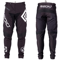 Radio BMX Race Pants - Adult Pilot Race Pants - Nylon - Black