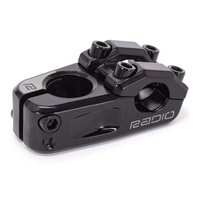 "Radio BMX Race Stem - Cobalt Junior Top Load Stem - 1"" - Black"