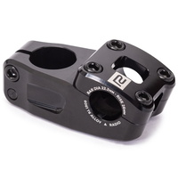 "Radio BMX Race Stem - Neon Pro Top Load Stem - 1 1/8"" / 48mm - Black"