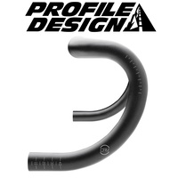 Profile Design Drop Bars - DB DRV/A 135 Drop 44cm - Black
