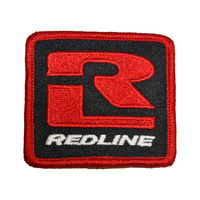 Redline BMX Patch - Embroided Logo