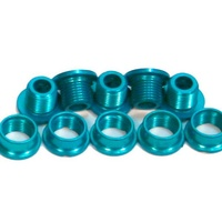 Runlux BMX Chainring Studs - Alloy - Pack 5 - Blue