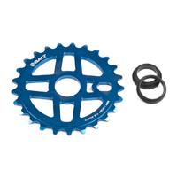 Salt BMX Pro Sprocket 25T Blue. Suits 23.8mm, 22mm or 19mm Axle.