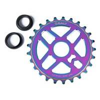 Salt BMX Pro Sprocket 25T Oil Slick Suits 22mm or 19mm. Jet Fuel Jetfuel Rainbow