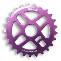 Salt BMX Pro Sprocket 25T Purple. Suits 23.8mm, 22mm or 19mm Axle.