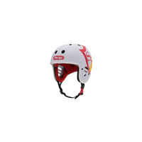 S&M BMX Helmet - Certified - Full Cut - White - Various Sizes