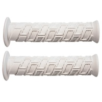 SNAFU BMX Grips - Simmple - Flanged - 135mm - White