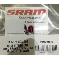 SRAM Stealth-A-Majig Hydraulic Disc Brake Hose Fitting Kit