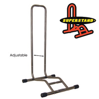 Superstand Bike/Cycling Stand - Adjustable Fat Rack - 100-135mm - For Fat Tyres