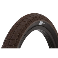 1 x Sunday Current BMX Tyre 20 x 2.25 Brown with Black Wall