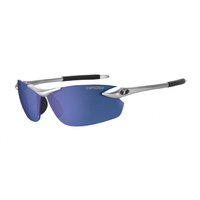 Tifosi SEEK FC Metallic Silver Single Lens Sunglasses - Cycling Sport Glasses