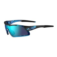 Tifosi Davos Crystal Blue ICC Sunglasses - Interchangeable Cycling Sport Glasses