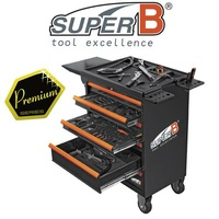 SuperB - Professional 104 Piece Work Station - Bike Tool