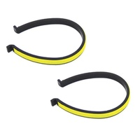 Bike / Cycling Trouser Bands / Clips - Reflective Strip