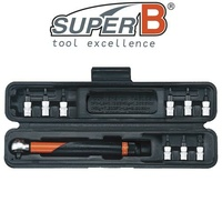 "SuperB - 1/4"" Drive Dial - Adjust Torque Wrench 3~15 Nm - Bike Tool"