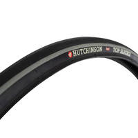 2 x Hutchinson Top Slick City 2 700x32 Reflex Bike Tyres - Black White Rim