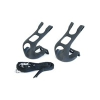 BC Bike/Cycling Pedal Accessories - MTB Toe Clips With Nylon Strap