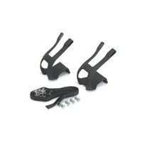 BC Bike/Cycling Pedal Accessories - MTB Toe Clips With Straps (Fisher)