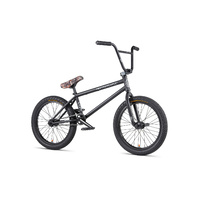 "WeThePeople BMX Bike - 'Crysis' - 20.5""TT - NEW 2020 - Matte Black"