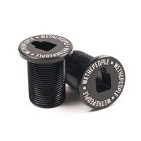 WeThePeople BMX Stem - Preload Top Bolt - Utopia - Alloy - Black