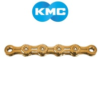 "KMC Bike Chain - X11SLGO - 11 Speed - 1/2"" x 11/128"" 116L - Titanium Nit Gold"