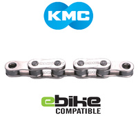 "KMC Bike/Cycling E-Bike Compatible Chain - Z Series - Single Speed - Wide - 1/2"" x 1/8"""