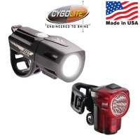 Cygo Bike/Cycling Light Set - Zot 450 + Hotshot Micro 30 USB Combo