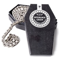 "The Shadow Conspiracy BMX Interlock V2 Half Link Chain - 1/8"" - Chrome"